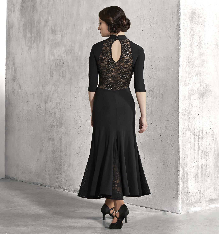 社交ダンス衣装 クリスアンクローバー LBD コレクション マデリンボールルームドレス