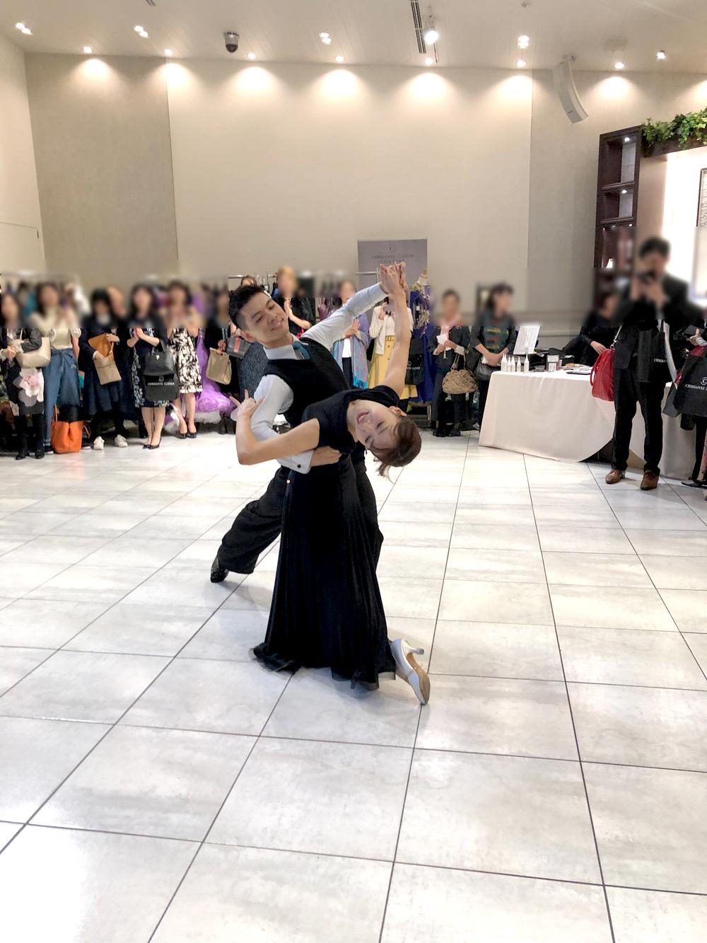 社交ダンス プロスタンダード景山・宮原組