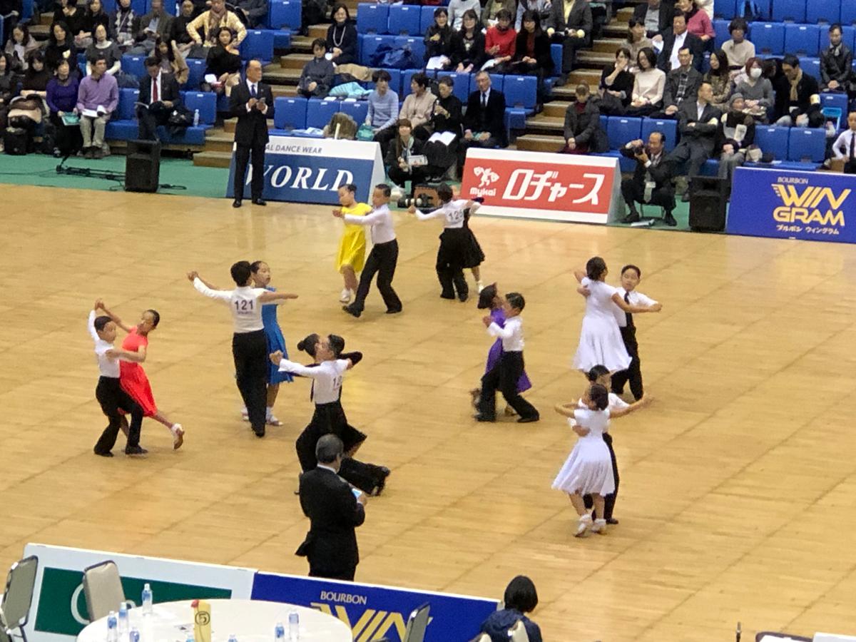 the ballroomdance competition mikasanomiya cup 2018